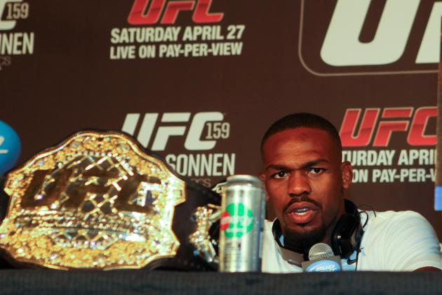 Jon Jones and the Top 5 UFC Champions in Light Heavyweight History
