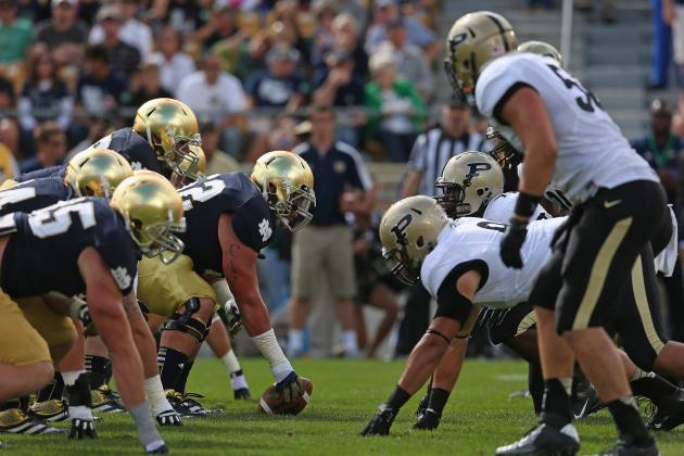 Notre Dame Fighting Irish vs. Purdue Boilermakers Complete Game Preview
