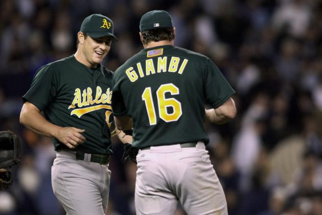Oakland Athletics' All-Time 25-Man Roster