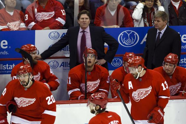 Detroit Red Wings: Players with the Most Pressure for the 2013-14 Season