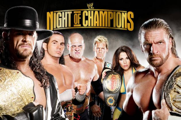 WWE Night of Champions: Fun Facts About the Pay-Per-View