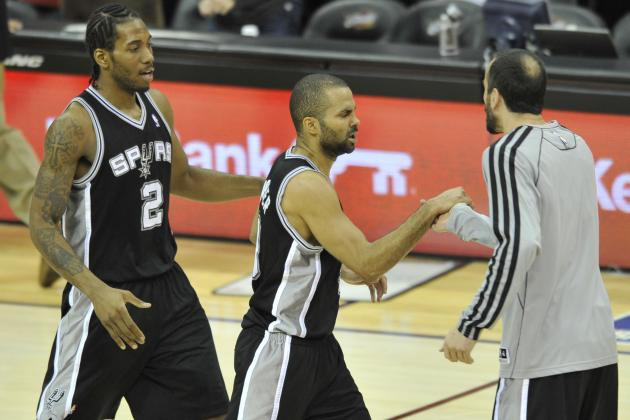 Pre-Training Camp Player Power Rankings for San Antonio Spurs
