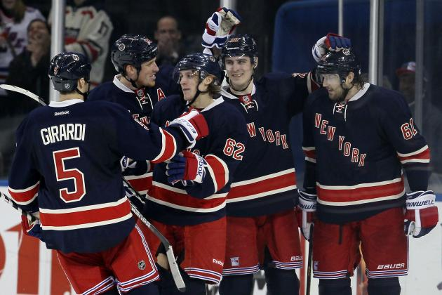 Top Storylines for New York Rangers 2013-14 Training Camp