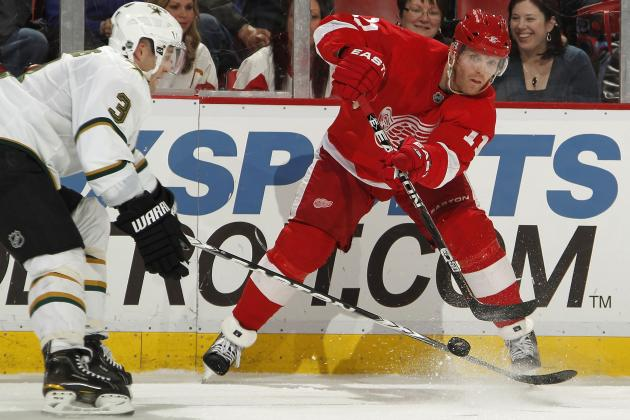 How Will Dan Cleary's Absence Affect Detroit Red Wings in 2013-14 Season?