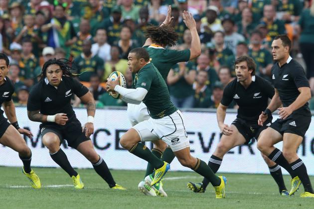 Ranking the 5 Best Tries in South Africa vs. New Zealand Matches