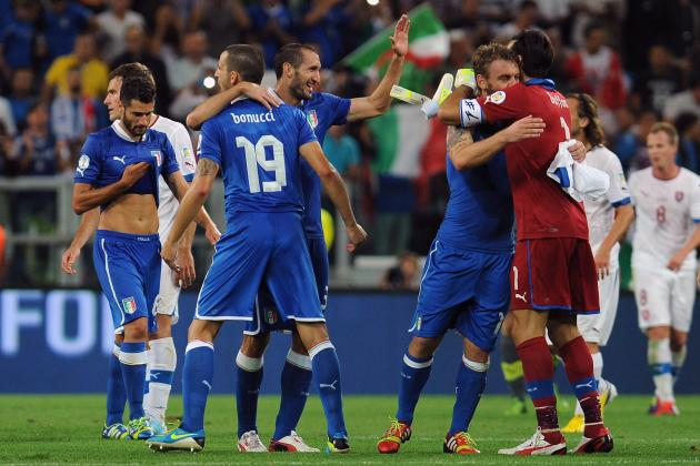 Which Players from Italy's Euro 2012 Squad May Be Axed for Brazil 2014 World Cup