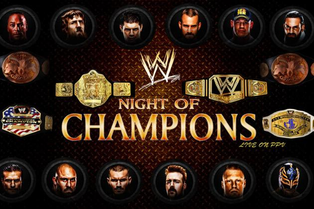 WWE Night of Champions 2013: Predictions for Each Match on PPV Card
