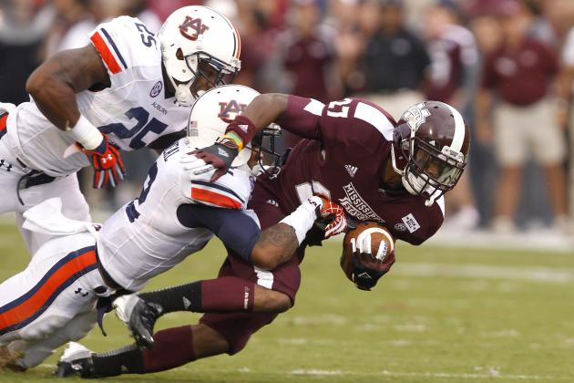 Auburn vs. Mississippi State: Complete Game Preview