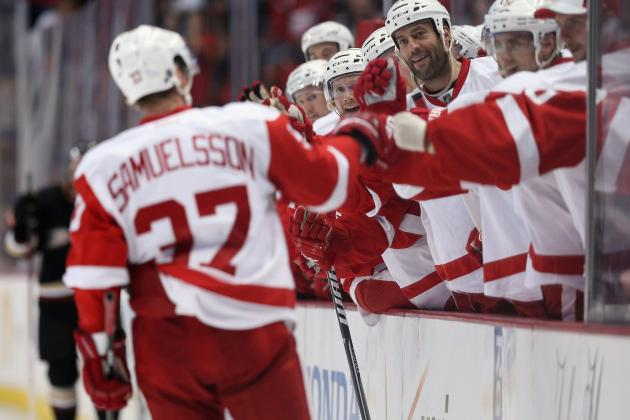 Who's the Detroit Red Wings' Odd Man out in Overcrowded Roster?