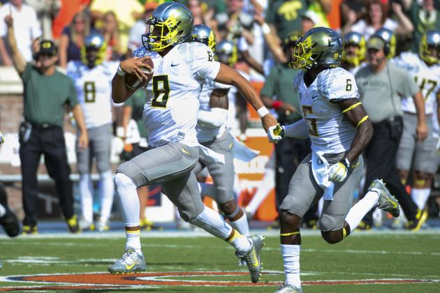 Oregon to Mix Things Up in Its Star-Studded Backfield?