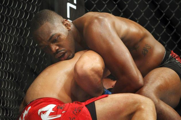 Jon Jones 'Standing Guillotine' and the 10 Coolest Submissions in MMA History