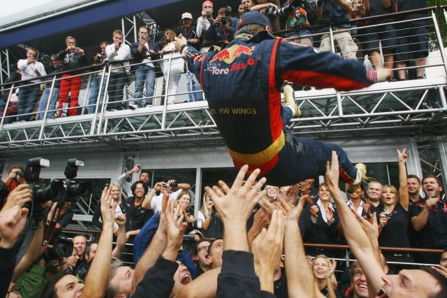 Sebastian Vettel and the Top 10 Maiden Formula 1 Race Wins