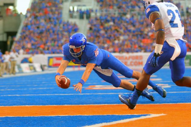 Air Force vs. Boise State: 10 Things We Learned in Broncos' Win