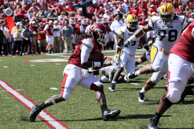 Biggest Surprises for Arkansas Razorbacks Through Week 3