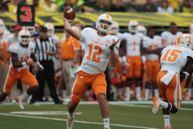 Tennessee vs. Oregon: 10 Things We Learned in Volunteers' Loss