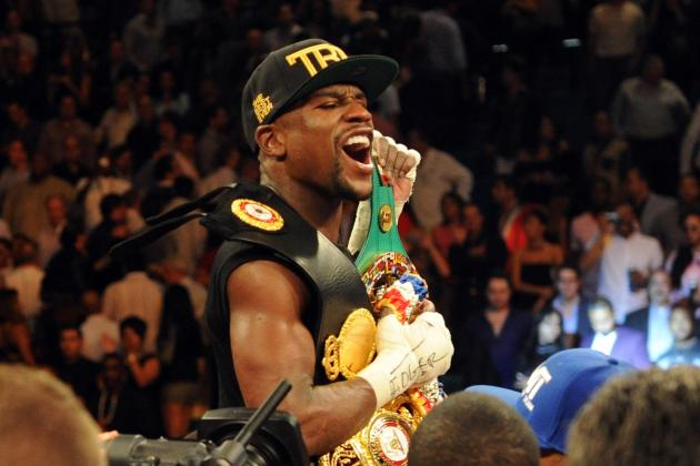 Floyd Mayweather vs. Canelo Alvarez: Most Dazzling Images from Full Fight Card
