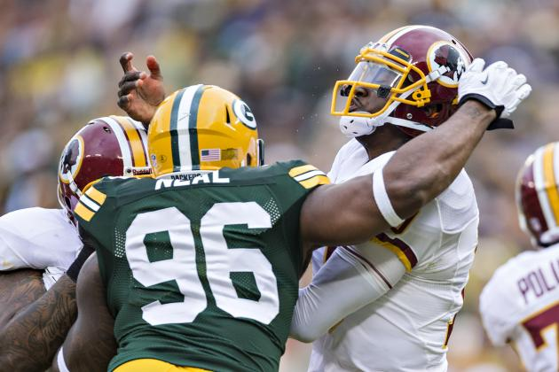 Green Bay Packers Ace Contest vs. Washington, RGIII
