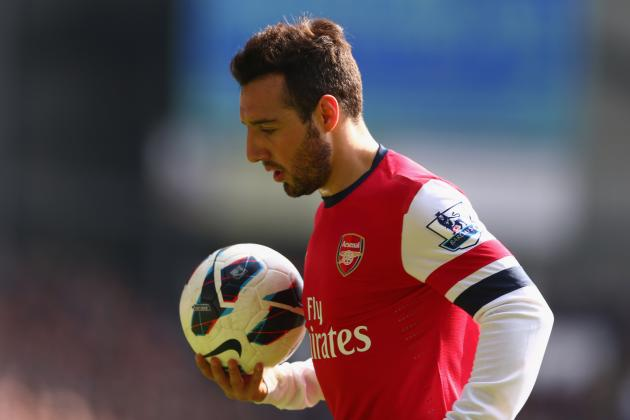 How Arsenal Will Cope with Santi Cazorla's Absence from Game to Game