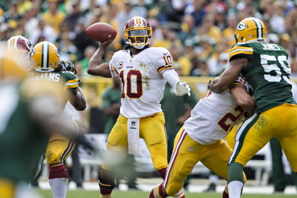 The Redskins and Other Two-Loss Teams Already Fading from Playoff Contention