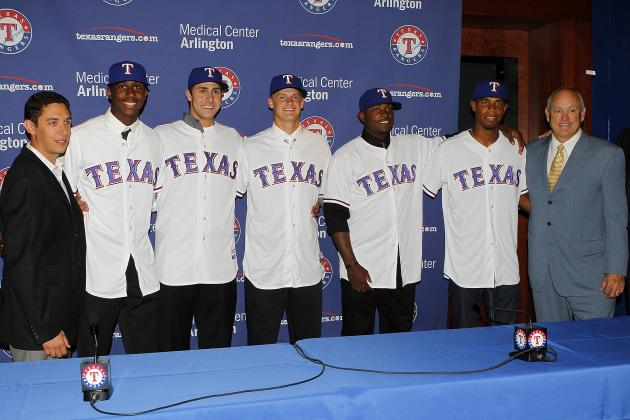 Ranking the Texas Rangers' Top 10 Prospects After the 2013 Minor League Season