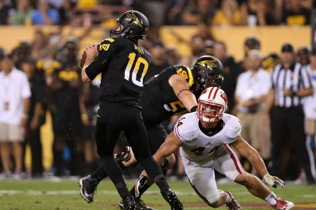 Arizona State Football: Grading Taylor Kelly Against Wisconsin