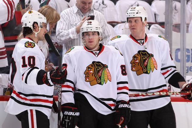Predicting the Strength and Weakness of Each Chicago Blackhawks Line in 2013-14