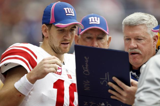 Full Week 3 Stat Predictions for New York Giants Offensive Players