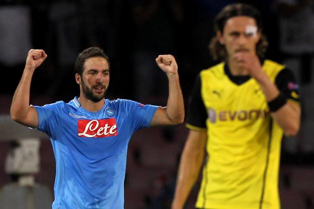 Napoli vs. Borussia Dortmund:  5 Things We Learned