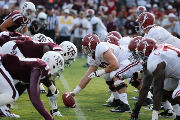 SEC Football 2013 Week 4 Simulation