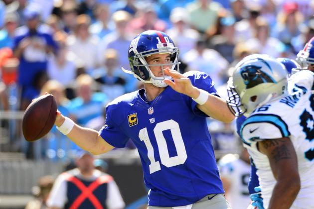 NY Giants vs. Carolina Panthers: Full Roster Report Card Grades for New York