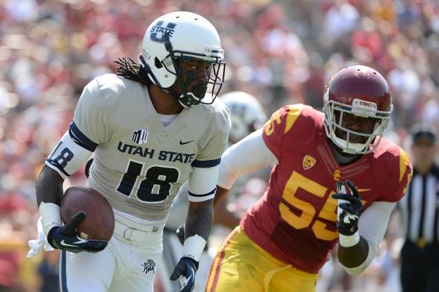 Utah State vs. USC: 10 Things We Learned in Trojans' Win