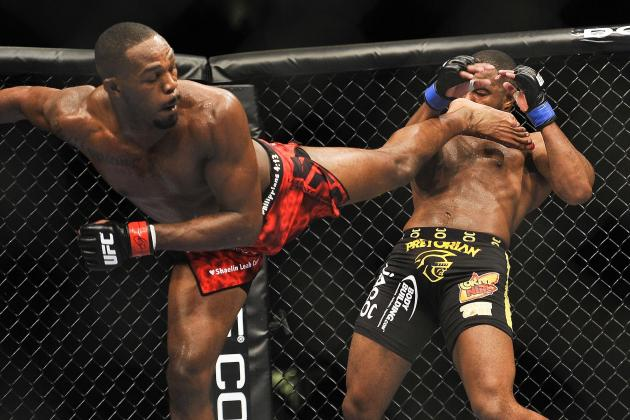 UFC 165 Primer: Jon Jones and the 3 Best Kickers in MMA Right Now