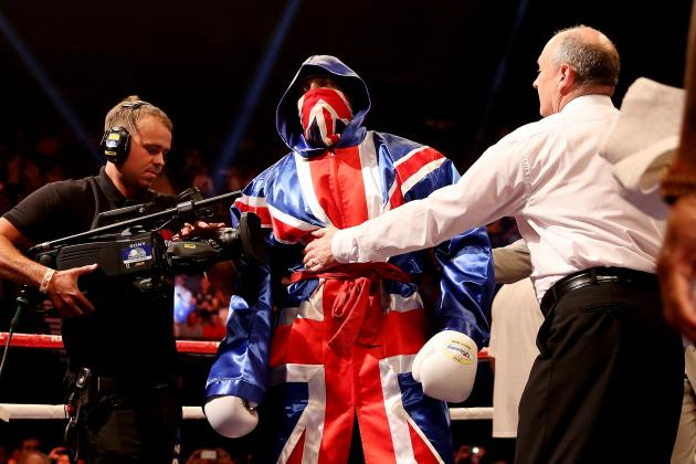 Boxing Results: Dereck Chisora Powers to Euro Title as Mathews Beats Woodhouse