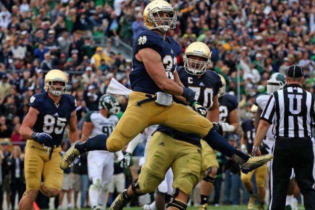 Michigan State vs. Notre Dame: 10 Things We Learned in Irish's Win