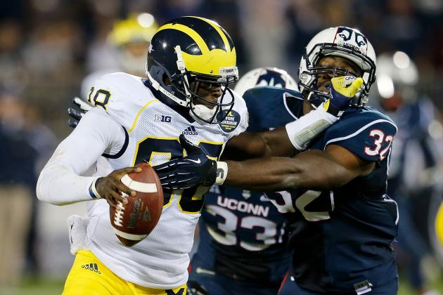 Michigan vs. Connecticut: 10 Things We Learned in Wolverines' Win