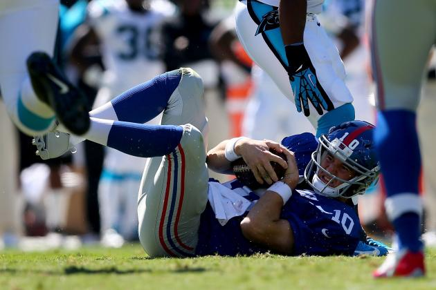 Giants vs. Panthers: Takeaways from New York's 38-0 Loss to Carolina