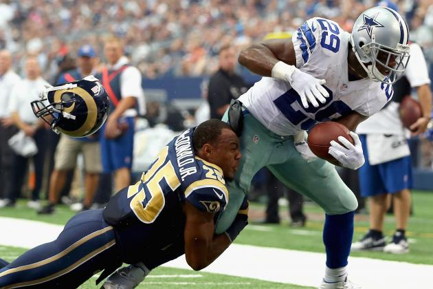 St. Louis Rams vs. Dallas Cowboys: Full Roster Report Card Grades for St. Louis