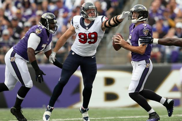 Houston Texans vs. Baltimore Ravens: Full Roster Grades for Houston