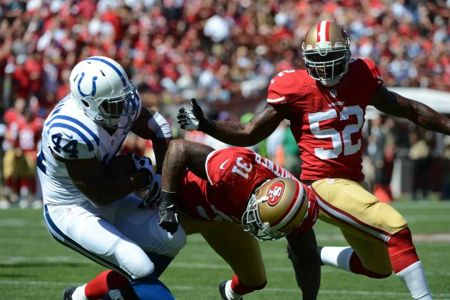 Colts vs. 49ers: Full Roster Report Card Grades for San Francisco