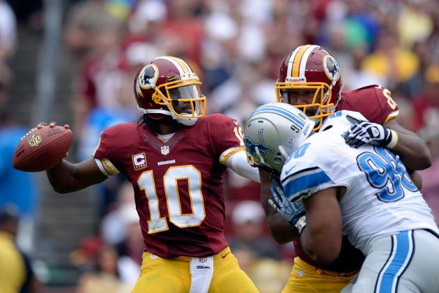 Detroit Lions vs. Washington Redskins: Full Report Card Grades for Washington