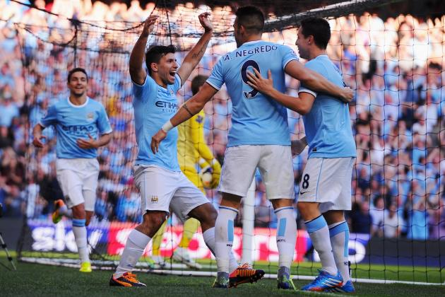 How Manchester City Will Line Up Against Wigan