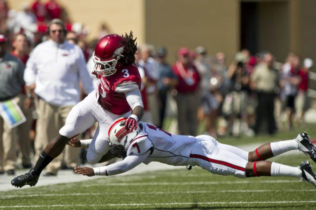 Arkansas Football: 5 Players Who Have Surprised Us in 2013