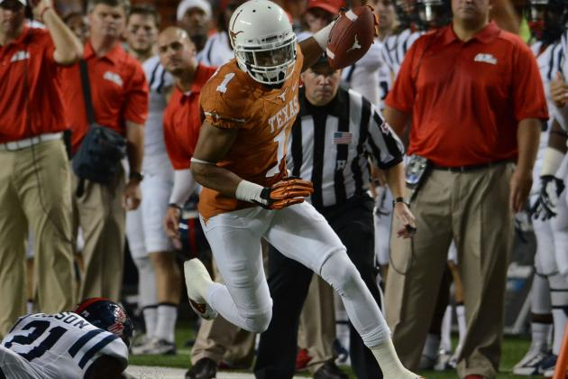 Texas Football: Power Ranking the Top 5 NFL Prospects on 2013 Longhorns Team