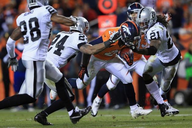 Raiders vs. Broncos: Full Roster Report Card Grades for Oakland