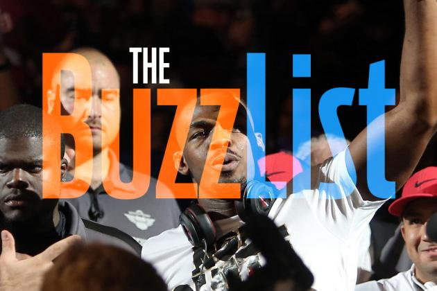 The Buzz List: The 9 Hottest, Most Controversial MMA Topics for 9/9-9/24