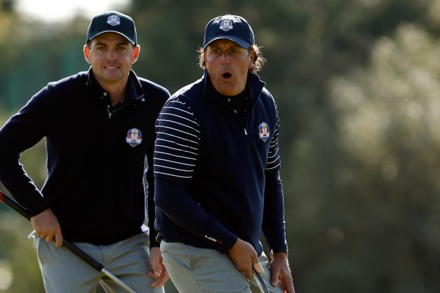 2013 Presidents Cup: Projected Pairings for Both Teams