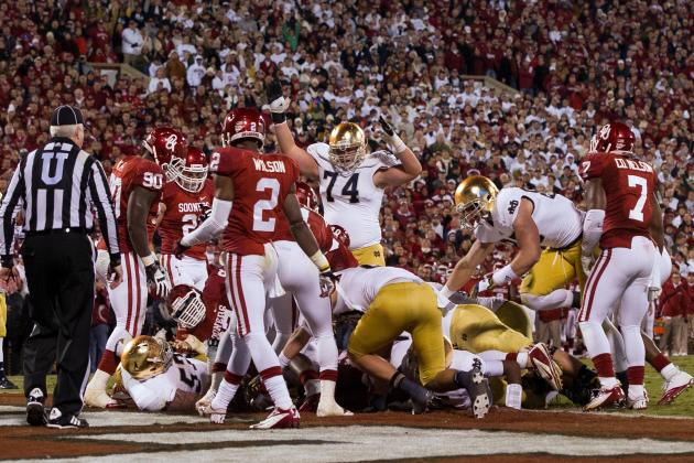 Notre Dame Fighting Irish vs. Oklahoma Complete Game Preview