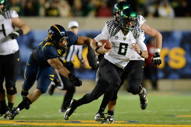 Oregon Ducks vs. California Golden Bears Complete Game Preview