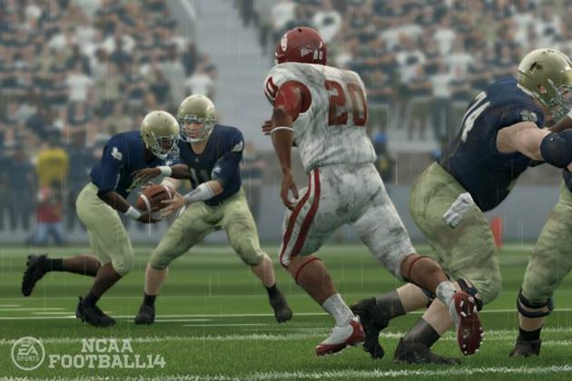 College Football 2013 Week 5 Simulation
