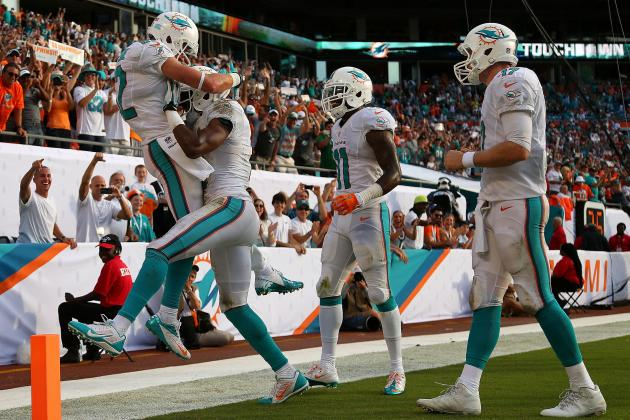 Full Week 4 Stat Predictions for Every Miami Dolphins Offensive Player